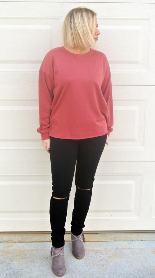 Knee Cut-Out Leggings