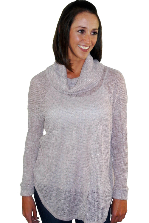 Lush Mauve Sweater