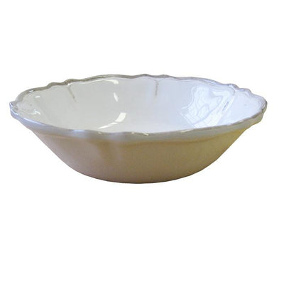 Antique White Bowl