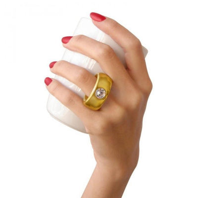 Gold Diamond Ring Mug