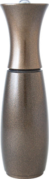 "Fletchers' Mill Border Grill 8"" Salt Mill - Metallic Bronze salt mill Fletchers' mill"
