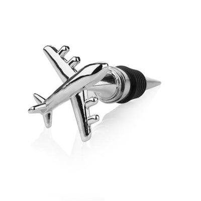 Jet Set Wine Stopper