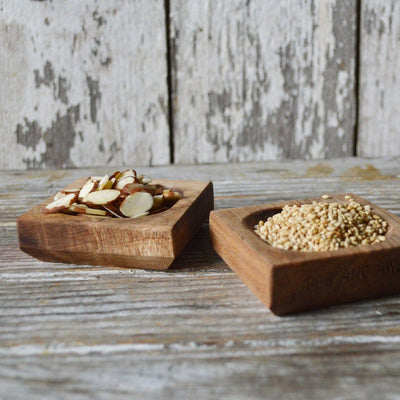 Maple Wood Pinch Bowl Set