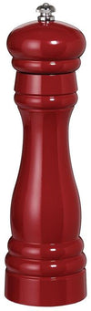 "Fletchers' Mill Federal 8"" Pepper Mill - Cinnabar Pepper Grinder Fletchers' mill"
