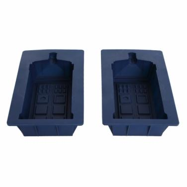 Doctor Who Tardis Silicone Mold