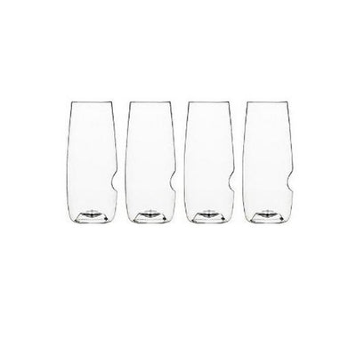 GOVINO GO ANYWHERE CHAMPAGNE FLUTES (SET OF 4)