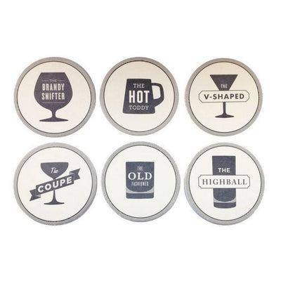 Happy Hour Coasters (Set of 6)