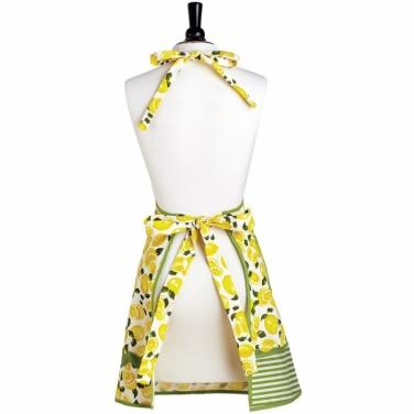 Lemon Apron and Towel Set