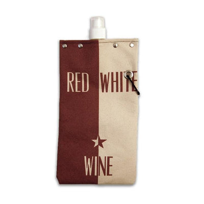 Red and White Wine Tote
