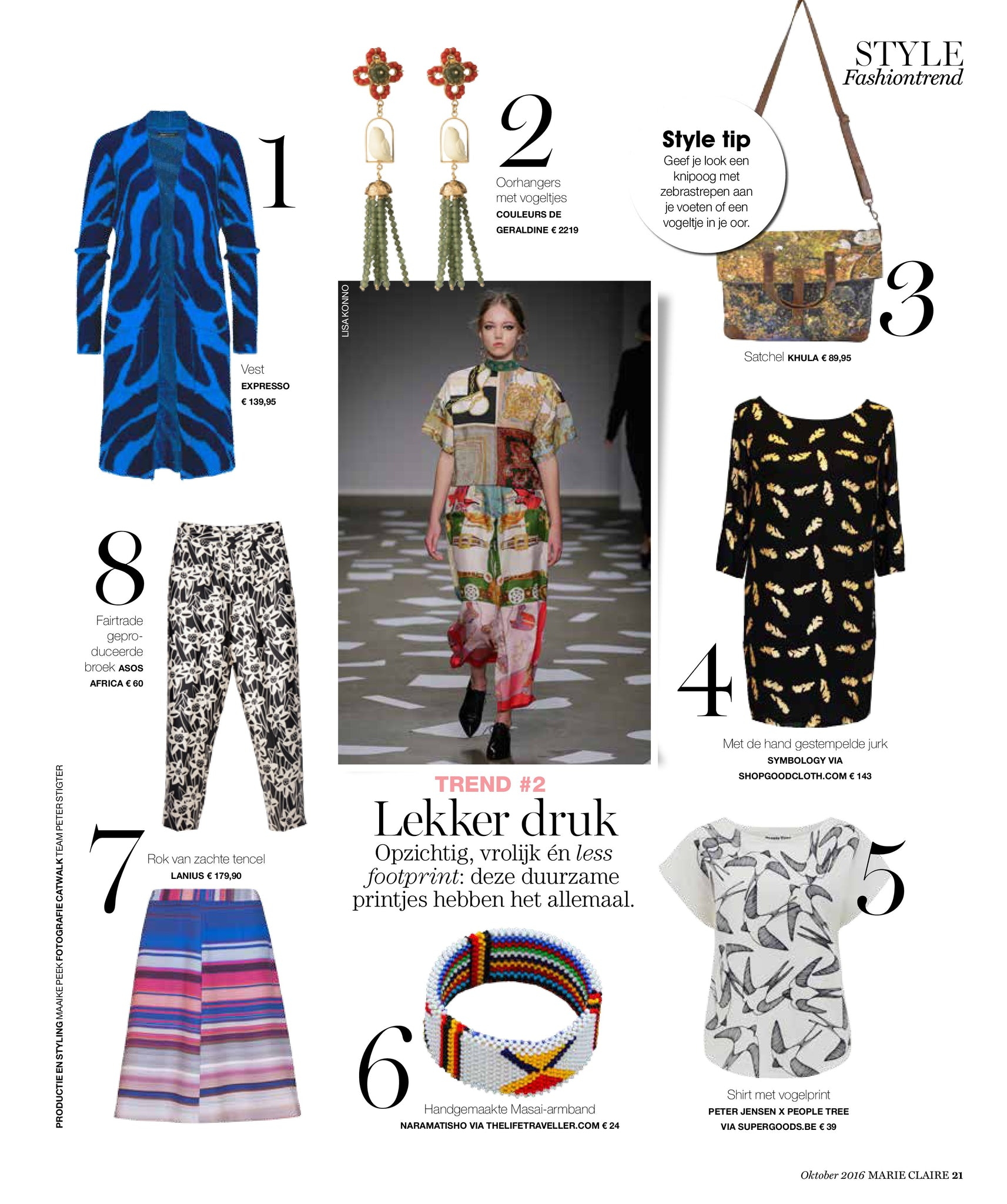 Good Cloth in Marie Claire Netherlands