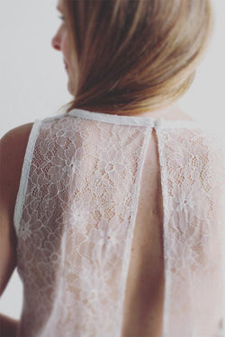Bridal: Ariel Top in White
