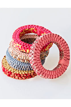 Round Textile Bracelet - Good Cloth