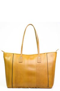 Classic Tote in Fire Hose Yellow - Good Cloth