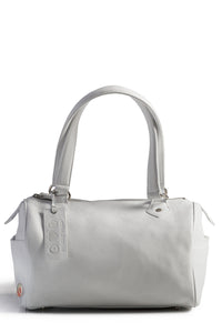 Classic White Satchel - Good Cloth