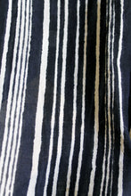 Black + White Striped Scarf - Good Cloth