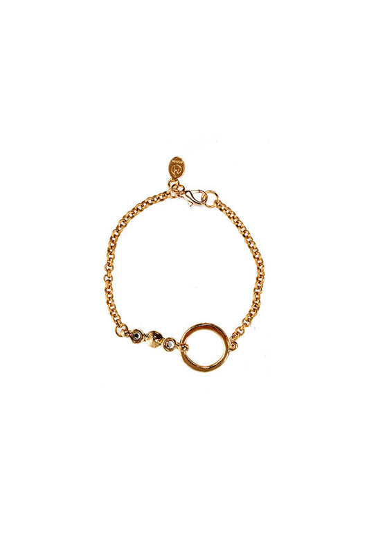 Hoop Bar Bracelet - Good Cloth