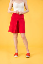 Dress Shorts in Red