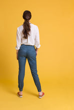 Cuffed Pants in Navy
