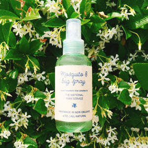 All Natural Bug Repellent Spray