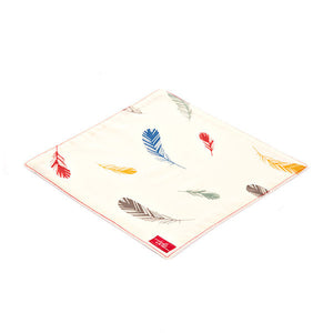 Feathers Organic Cotton Poplin and Terry Washcloth - Good Cloth