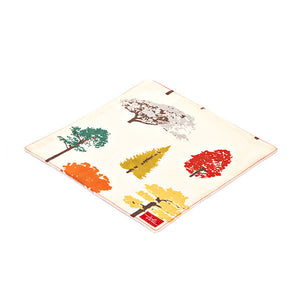 Trees Organic Cotton Poplin and Terry Washcloth - Good Cloth