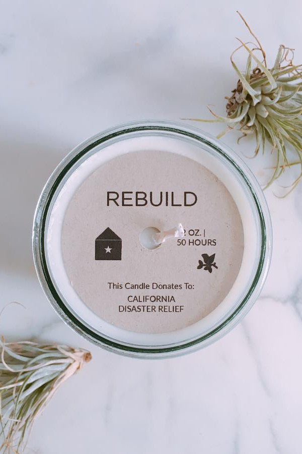Rebuild | Southern California Wildfire Relief | Jasmine Scent