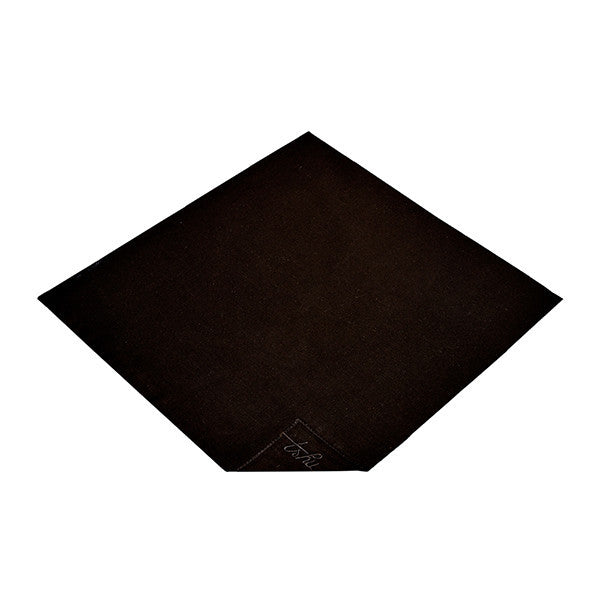 Black Organic Cotton Handkerchief - Good Cloth