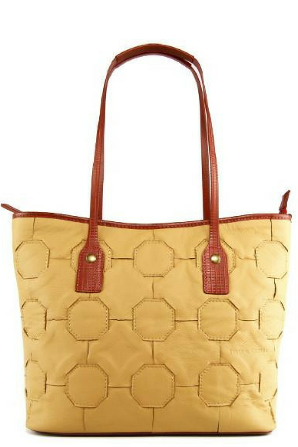 Tan Fire & Hide Tote