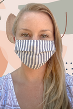 Multi-layer Filtered Reusable Cotton Mask with Pocket (Individual or Pack of 5)