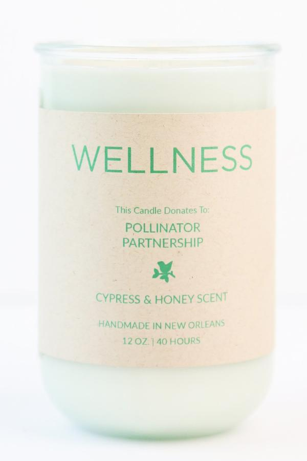 Wellness Candle | Pollinator Partnership | Rigaud Cypress Scent