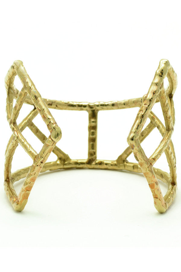 Carmen Bronze Cuff - Good Cloth