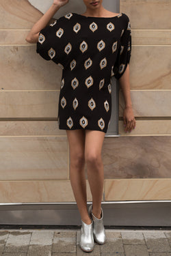 Limited Edition: Eye of the Ikat Shift Dress - Good Cloth