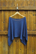 Waves Poncho in Noche - Good Cloth