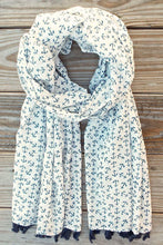 Nautical + Tassels Scarf
