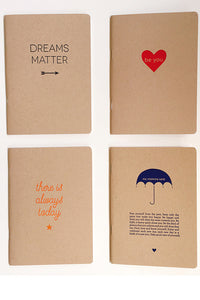 Inspirational Letterpress Journals