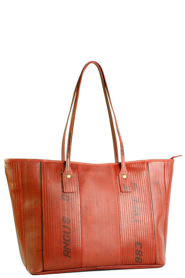 Classic Tote in Fire Hose Red - Good Cloth