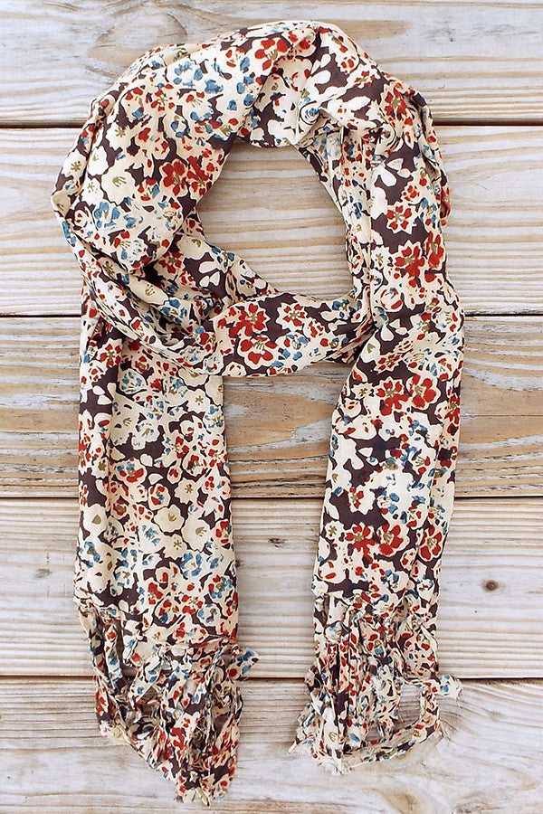 Floral Pop Scarf - Good Cloth