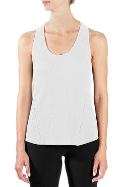 Thermal Racerback Year-Round Tank in Cream - Good Cloth