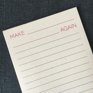 Make *Blank Blank* Again Notepad | Gives to ACLU