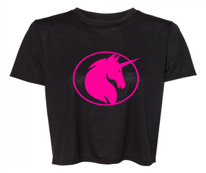 UNICORN CROP T-SHIRT