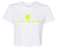 THE OFFICE CROP T-SHIRT