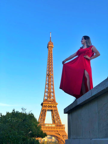 """Rojo Pasión"" Glam Dress"