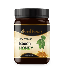 Native Beechwood Honey 250g - Pure Vitality Limited