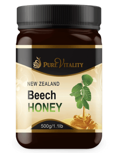 Native Beechwood Honey 500g - Pure Vitality Limited
