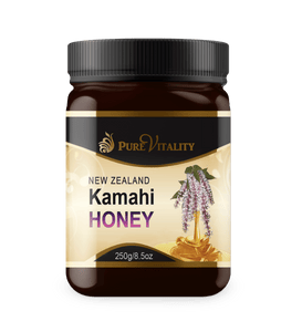 Native Kamahi Honey 250g - Pure Vitality Limited