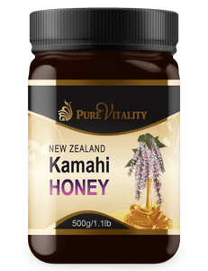 Native Kamahi Honey 500g - Pure Vitality Limited