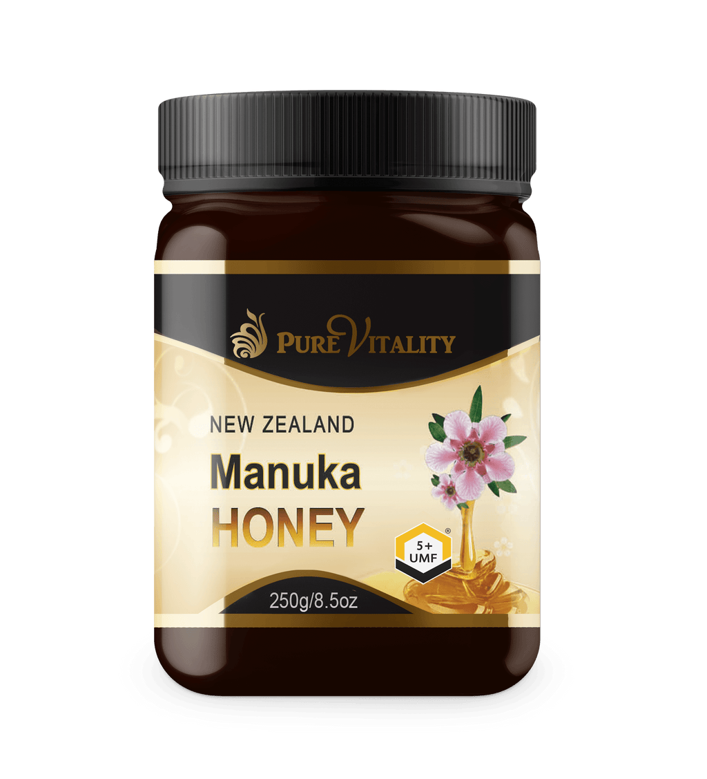 Premium UMF® 5+ Manuka Honey 250g - Pure Vitality Limited