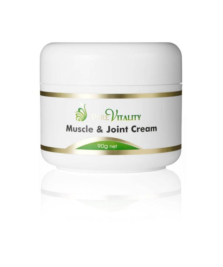 Muscle & Joint Cream 90g - Pure Vitality Limited