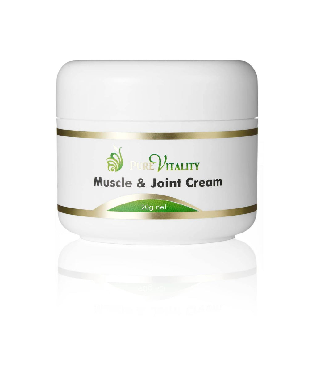 Muscle & Joint Cream 20g - Pure Vitality Limited