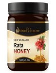 Native Rata Honey 500g - Pure Vitality Limited